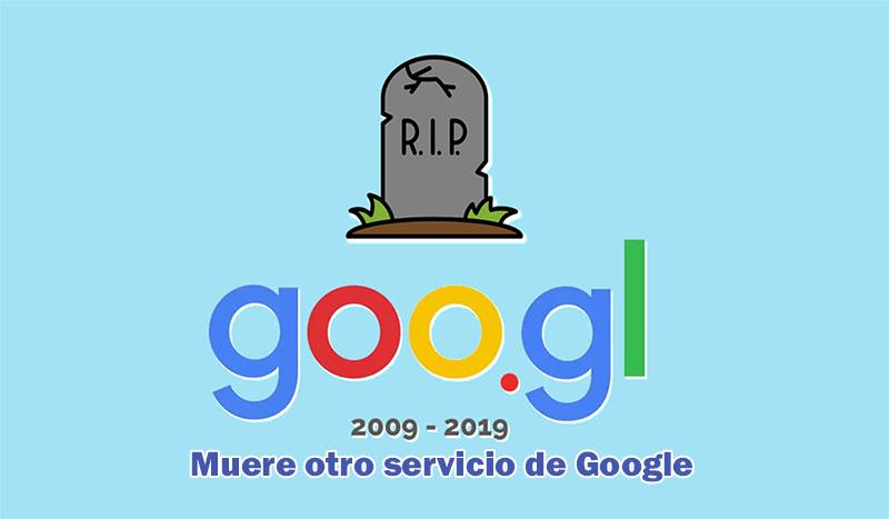 Goo.gl el acortador de Google dice adiós